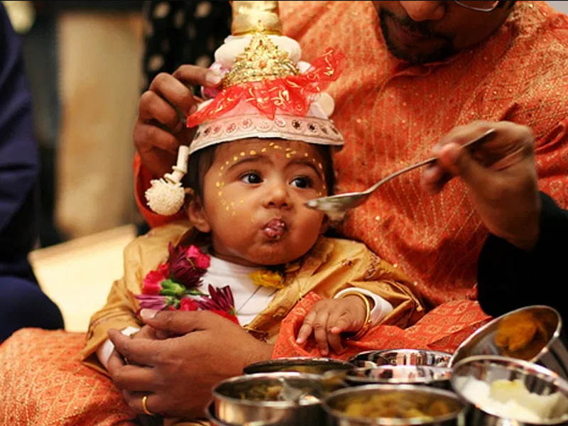 Indian baby traditions