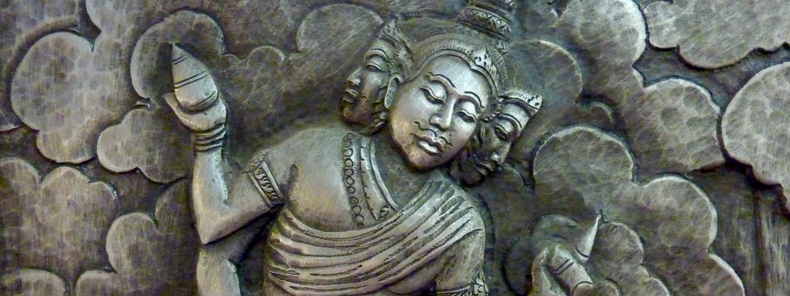 Indian gods sculptures